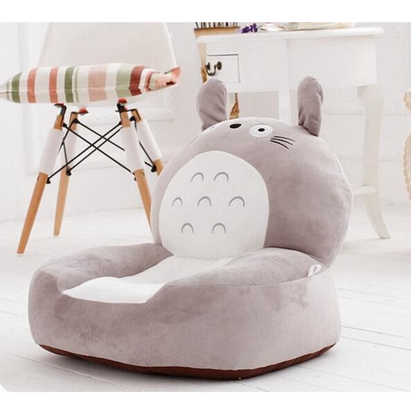 High Quality brand New Baby Bean Bag Kids Chair&Sofa Totoro Children's Plush Chair Cartoon Seat Sofa Cotton Toys For Children(China (Mainland))
