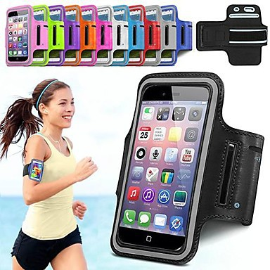 """DF Sports Running Jogging Gym Armband Full Body Case for iPhone 6 Case 5.5"""" (Assorted Color)"""