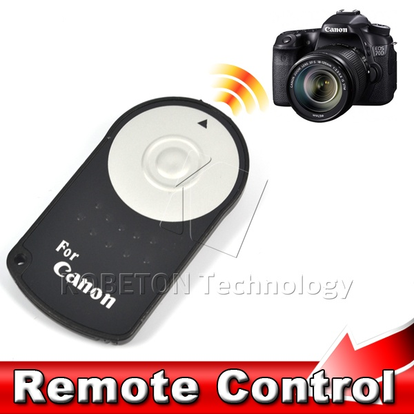 2015 New RC-6 RC6 IR Infrared Wireless Remote Control Camera Shutter Release For Canon EOS DSLR 5D Mark II 500/550/600/650 D(China (Mainland))