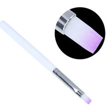 1PC Nail Art Brush Builder UV Gel Drawing Painting Brush Pen For Manicure DIY Tool Ggradient Purple Color(China (Mainland))