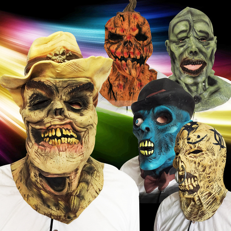 2016 Moda Michael Myers Máscara Filme de Horror Skulll Abóbora de Halloween Do Partido Cosplay Máscara De Látex Trajes Clássicos do Dia Das Bruxas(China (Mainland))