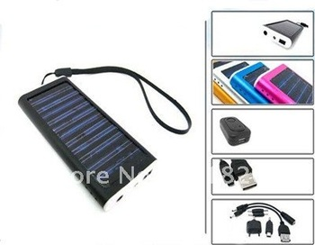 Free shipping USB Solar Battery Panel Charger for Cell Phone MP3 MP4# 8117