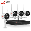 ANRAN Plug And Play CCTV System 4CH H 264 Wireless NVR Video Recorder 1 0MP HD