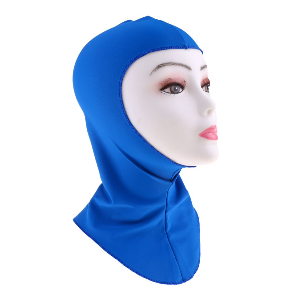 2Pcs Cap Hood Hat UV Sun Protection Full Face Mask for Underwater Scuba Diving Snorkeling Surfing Winter Swimming Spearfishing