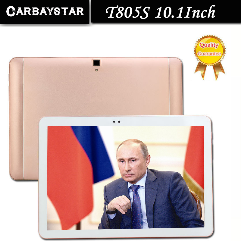 10.1 inch T805S CARBAYSTAR Ram 4GB Rom 64GB Octa Core MT8752 5MP Best Android 6.0 4G LTE Smart android Tablet PC,Tablet Computer(China (Mainland))