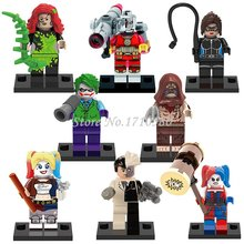 Single Sale Marvel DC Super Hero Avengers Minifigures Deadpool Batman Building Blocks Sets Model Bricks Toys legoelieds(China (Mainland))