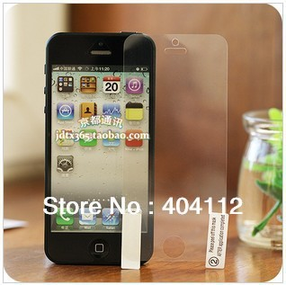 New Arrival Clear LCD Screen Protector for iphone 5 5S 5C screen guard (front protector)
