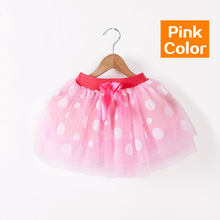 2016 модные девушки юбки детские юбки балерина детская кружева пушистые pettiskirts дети Hallowmas случайные конфеты цвет юбка
