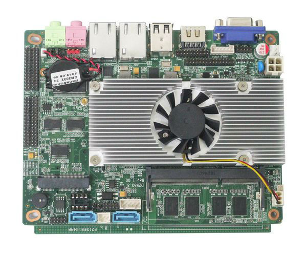 intel atom D2700 motherboard with onboard 24bit LVDS/onboard 2GB ddr3/2*rj45 lan board for thin client,Car PC(China (Mainland))