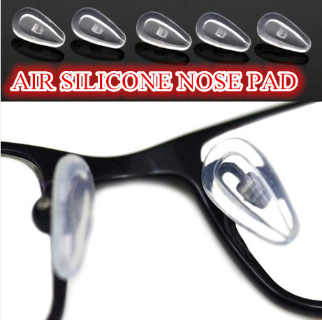 free shipping Air silicone nose pad Super soft nose pad screw air sac nose pads soft
