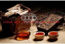 Made in1970 raw pu er tea 250g oldest puer tea ansestor antique honey sweet dull red