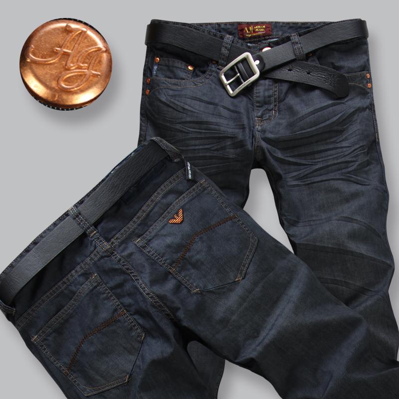 Menu0026#39;s jeans brand New 2015 Fashion men jeans pants Spring Winter menu0026#39;s jeans trousers Slim ...