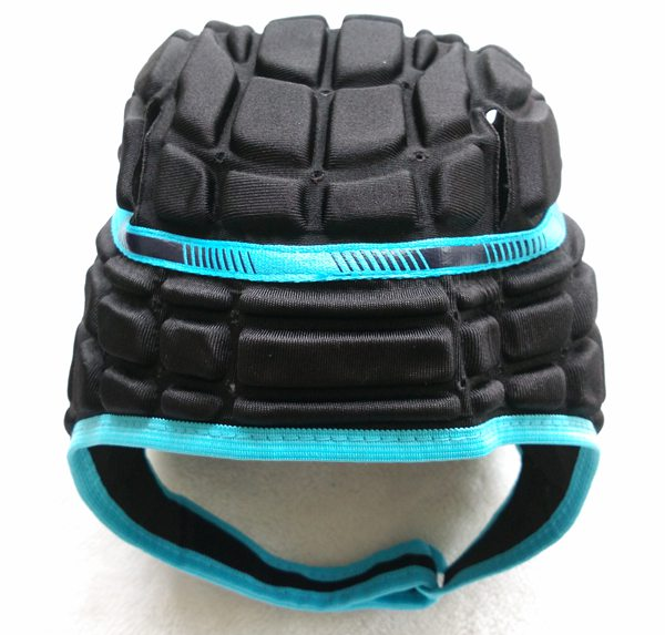New Men's Football Soccer Goalkeeper Helmet Rugby Scrum Cap Headguard Black Red Blue Goalie Roller Hat Protective Gear(China (Mainland))
