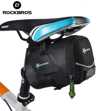 Buy ROCKBROS Bicycle Bike Rear Top Tube Bag Waterproof MTB Mountain/Road Bike Rear Bag Bicycle Saddle Bag Cycling Rear Seat Tail Bag for $10.38 in AliExpress store