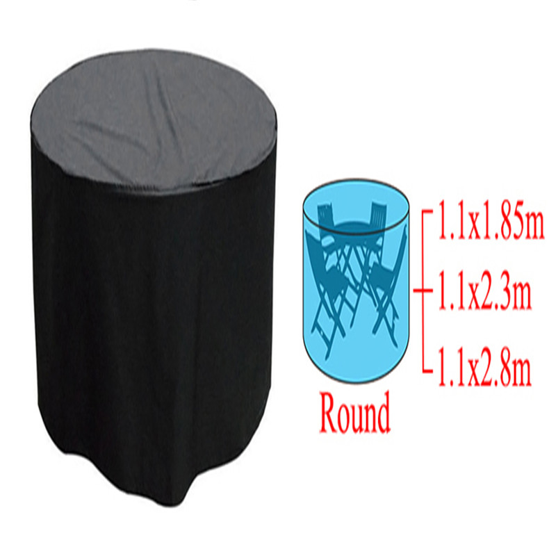 High quality and durable Woven Polyethylene Outdoor Furniture Cover Garden Patio Table Chair Waterproof(China (Mainland))