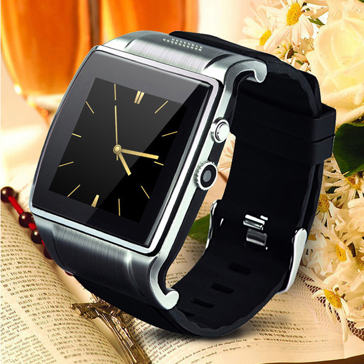 """1.6"""" Capacitive Screen 200M Camera Multi Function Bluetooth Smart Watch Support SIM Card TF Card FM Radio For Android iOS Phone(China (Mainland))"""
