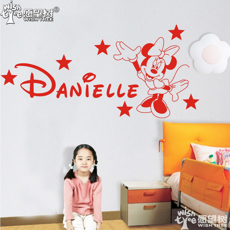 popular minnie mouse wall sticker buy cheap minnie mouse