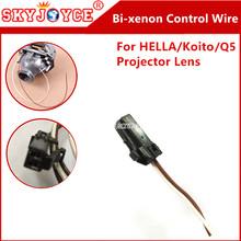 Buy 20X original KOITO HELLA bixenon projector control wire HID bi xenon projector plugtail solenoid plug cable motor controller hid for $65.98 in AliExpress store