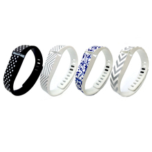 4PCS Replacement Bands with Metal Clasps for Fitbit Flex Only / Wireless Activity Bracelet Sport Wristband