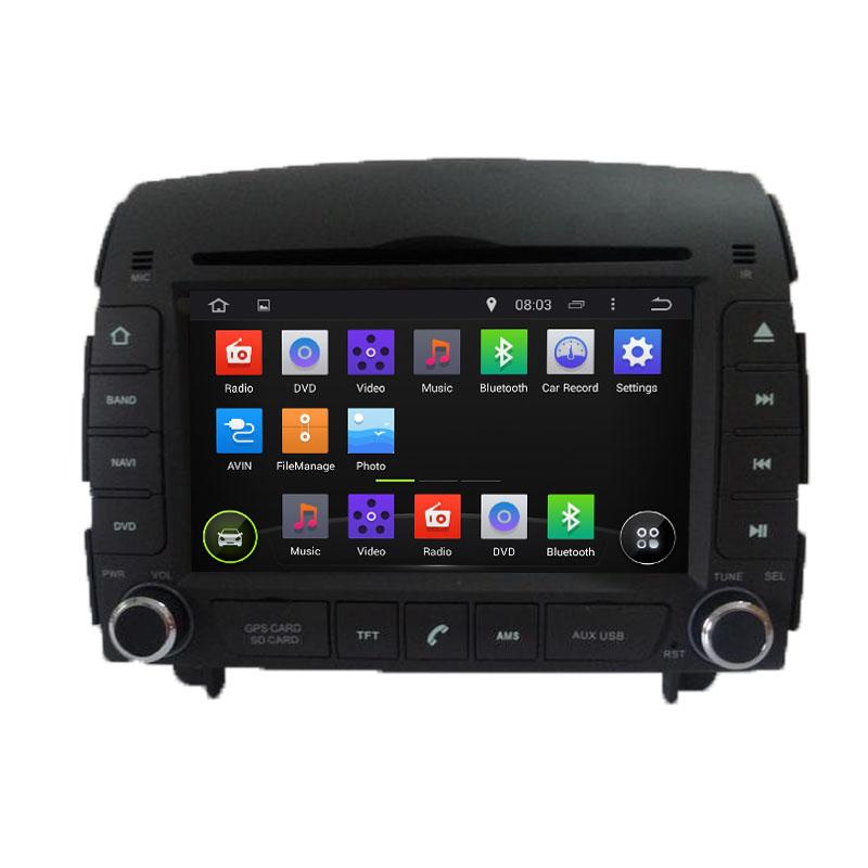 ROM 16G Quad Core Android 5.1.1 Fit Hyundai SONATA NF YU XIANG 2006 - 2012 2013 2014 2015 Car DVD Player Navigation GPS 3G Radio(China (Mainland))