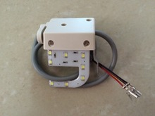8 level u-type modulation sewing machine LED work light / embroidery machine work lamp,2PCS/LOT(China (Mainland))