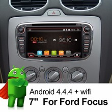 Buy 2 Din 7 Inch Car DVD Player Android 6.0 FORD/Focus/S-MAX/Mondeo/C-MAX/Galaxy Quad Core Wifi GPS Navigation Radio FM USB for $219.26 in AliExpress store