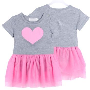 Baby Girls Newborn Outfit Tops T-shirt + Tutu Dress Birthday Clothing Set SZ 1-3Y