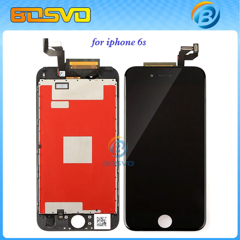 """Free EMS DHL shipping LCD Display with Touch Digitizer frame Assembly Complete Replacement screen for iPhone 6s 4.7 """" 5 pieces(China (Mainland))"""