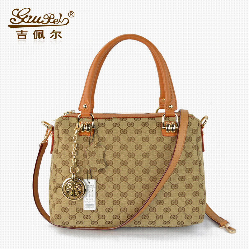 2015 Real Soft Tote Polyester Single Chains Totes Women Handbag New European Leather Handbags Bag Manufacturers Selling Bags(China (Mainland))