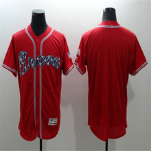 Men's #24 Deion Sanders #44 Hank Aaron #10 Chipper Jones Baseball Jerseys Home Road Alternate Flexbase Sewn Jersey(China (Mainland))