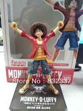 Hot Sale One Piece Two Years Later the New World Luffy PVC Japanese Anime Figures Free Shipping