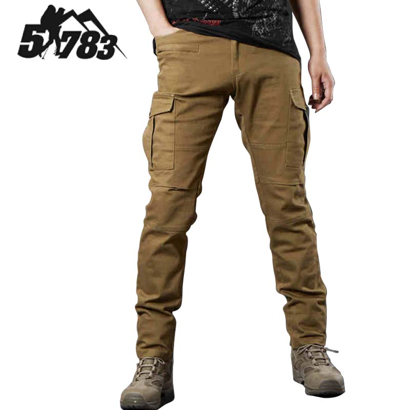 51783 Brand Tactical Cargo Pants Men Casual Combat Training Multi-pockets Trousers Overalls Sports Military Camping Hiking Pant