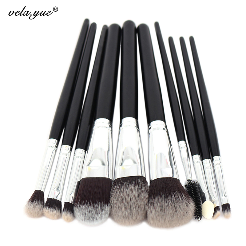 1Professional Makeup Brushes Set Tools Kit Premium Full Function - vela.yue Official Store store