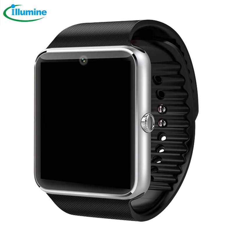 ILLUMINE 2016 GT08 smart watch mobile phone Bluetooth portable sleep monitoring bracelet watch pedometer(China (Mainland))