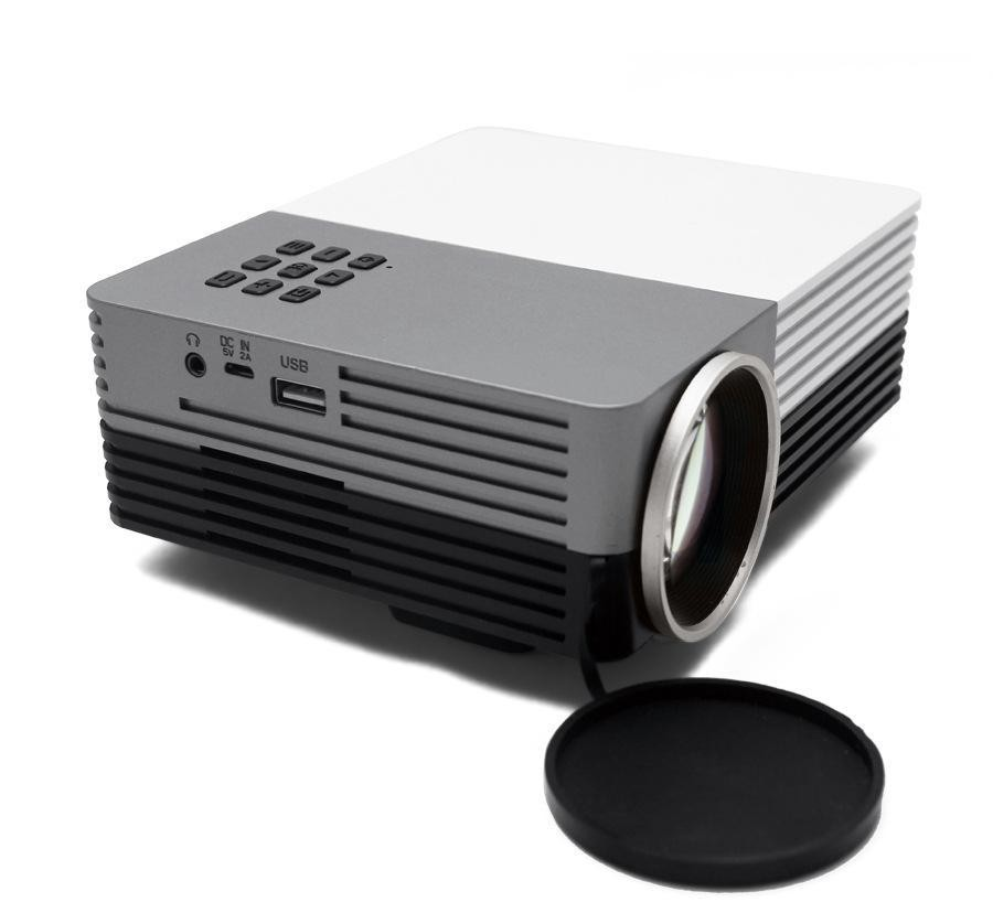 New Arrival Everycom GM50 Mini TV Projector Hdmi Home Theater Beamer Multimedia Proyector Full Hd 1080p Video  version