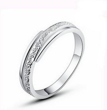 Hot sell bestselling Brush Finish 925 Sterling Silver unisex rings wholesale jewelry(China (Mainland))