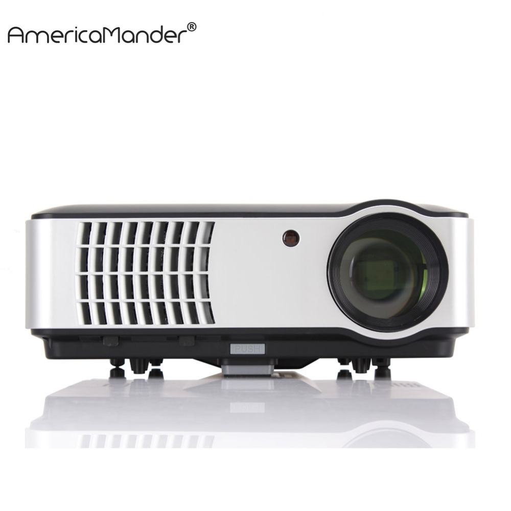 300inch Android System Full HD 1080P 3000lumens 1280*800 Video HDMI USB LED Home Theater TV 3D Projector Beamer Proyector(China (Mainland))