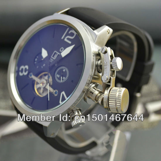 Free shiping special famous luxury strong tough business man automatic Mechanical Watch wristwatch - Factory store's store