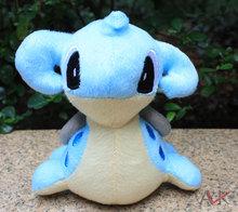 1pcs Cute Pokemon Lapras Plush Toy Stuffed Animal 15CM Retail