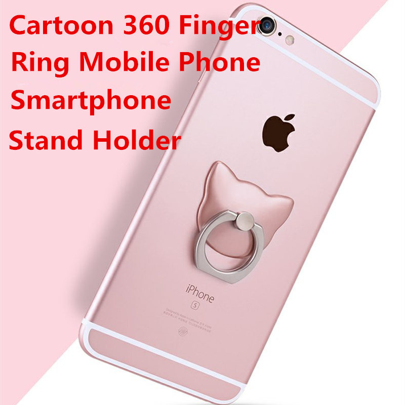 360 Degree Finger Ring Mobile Phone Smartphone Stand Holder For iPhone iPad Xiaomi all Smart Phone Luxury Couple Models(China (Mainland))