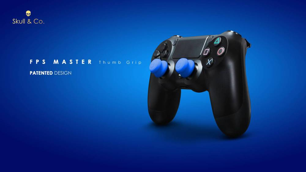 image for Silicone Controller Analog Grips FPS Thumbstick Cover For PS4/PS3 Thum