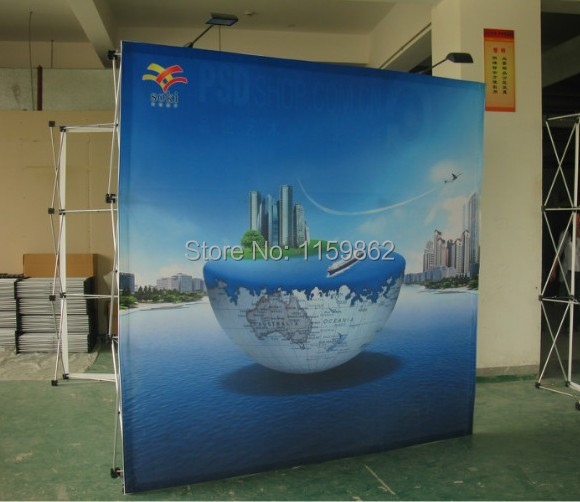 customed pop up stand with printing /wall banner(China (Mainland))