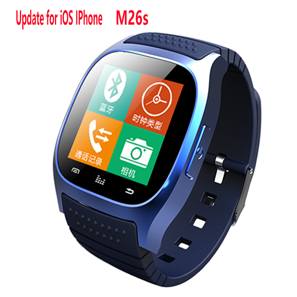 new sport Bluetooth Smart Watch luxury wristwatch M26 smartwatch with Dial SMS Remind Pedometer for Android Samsung xiaomi phone<br><br>Aliexpress