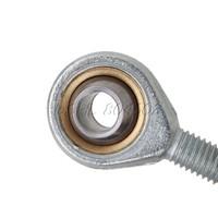 """2шт серебро 8 мм мужской стержень с резьбой метрической конец совместной metal 2.1"""" Общая длина"""