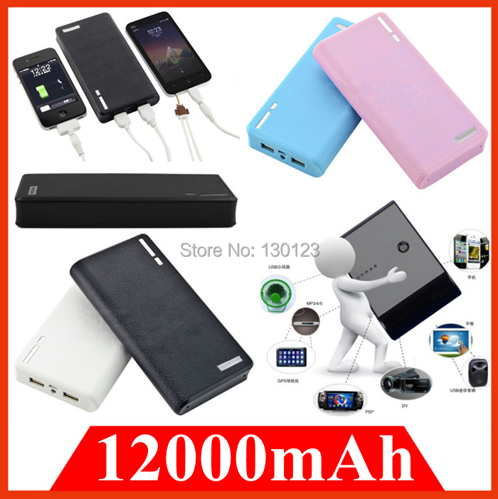 Зарядное устройство USB iPhone 4 4S 5S 5C 6 samsung/HTC/LG/sony 12000mah powerbank sony cp s15 s 15000 mah