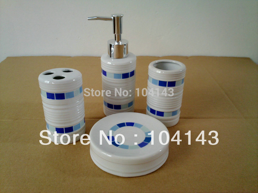 Accessories Set Vanity Dispenser C1032 In Bathroom Accessories Sets