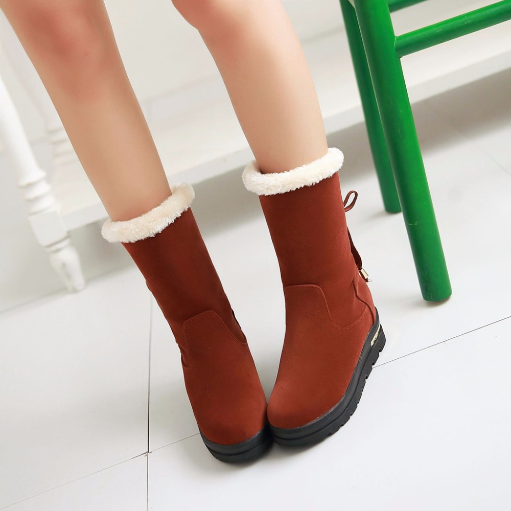 2015 Winter New Chelsea Boots Women Sequined Cross Straps Mid-Calf Boots Breath Fashion Feathers Warm shoes Size 34-39 R368(China (Mainland))