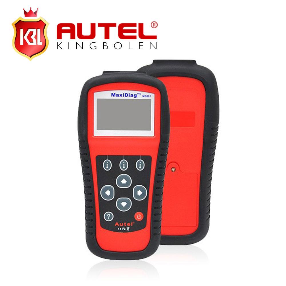 100% Original Autel MD801 Pro 4 in 1 Code Scanner(JP701 + EU702 + US703 + FR704) MaxiDiag PRO MD 801 Code Reader(China (Mainland))