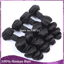 Hot Selling 7A Virgin Brazilian Hair Weaves Loose Wave Aunty Funmi Hair Loose Curly Hair Weft Can Be Dyed