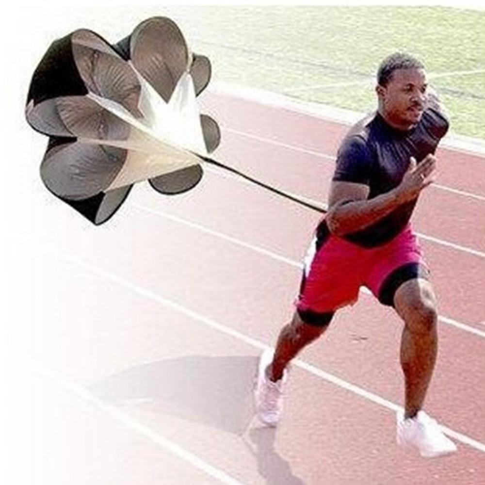 Free Shipping Speed Resistance Training Parachute Running Chute Soccer Football Training Parachute Umbrella(China (Mainland))